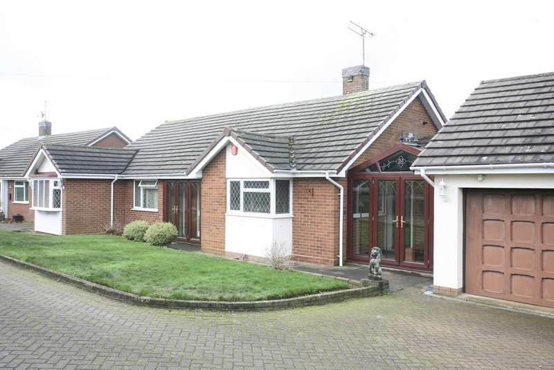 2 Bedrooms Detached Bungalow for sale in Meadow View, Church Lane, Hatherton, WS11 1RR