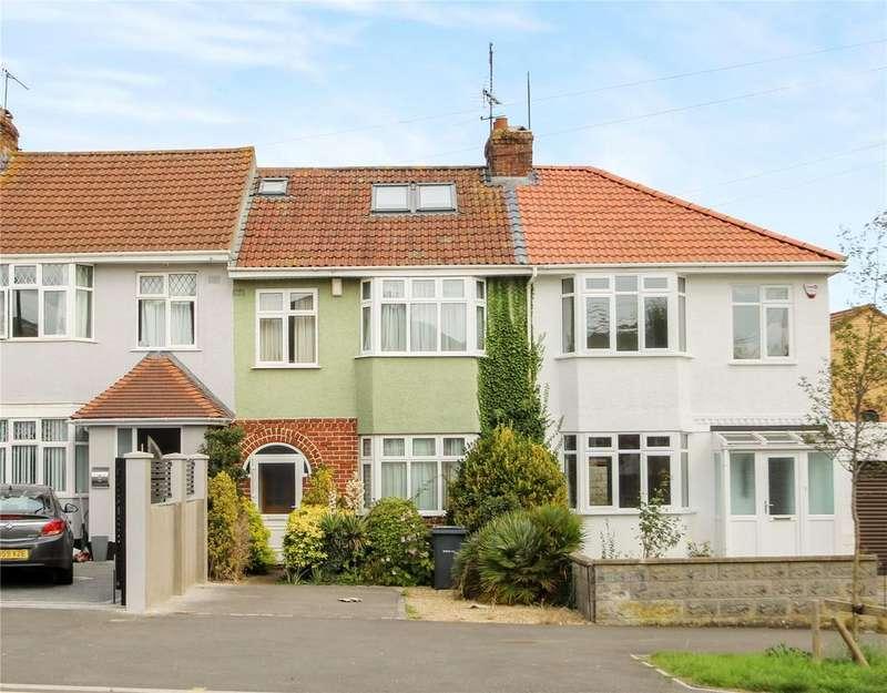 4 Bedrooms Terraced House for sale in King Georges Road, Bishopsworth, Bristol, BS13
