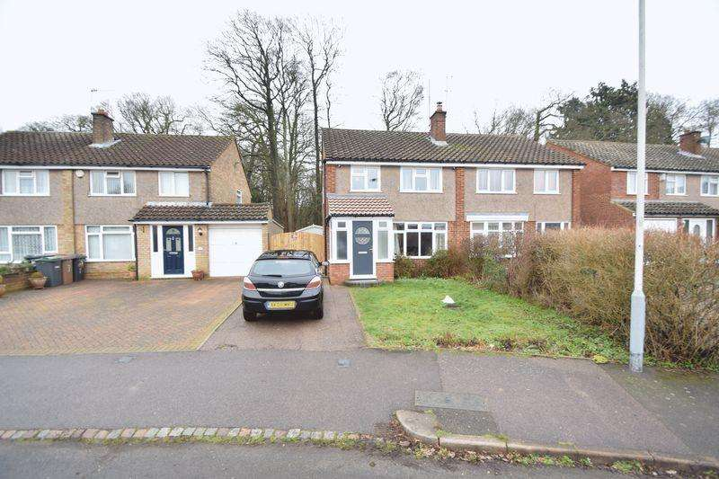 3 Bedrooms Semi Detached House for sale in Edgewood Drive, Luton