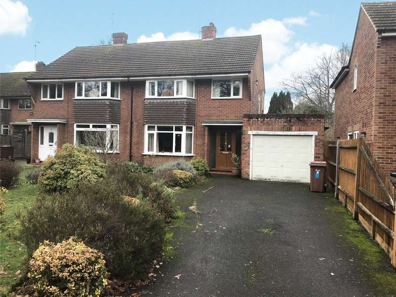 3 Bedrooms Semi Detached House for sale in Evendons Lane, Wokinhgam, Berkshire, RG41