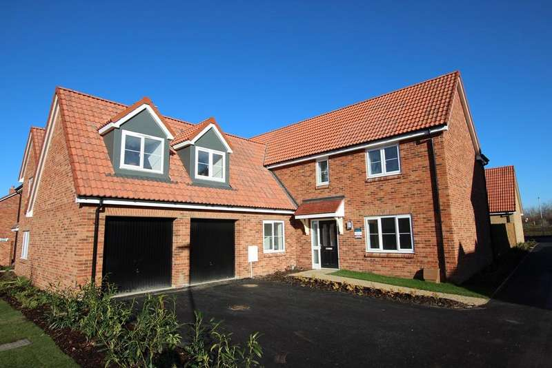 5 Bedrooms Detached House for sale in The Nailsworth Meadow Croft, Chapel End Road, Houghton Conquest, MK45