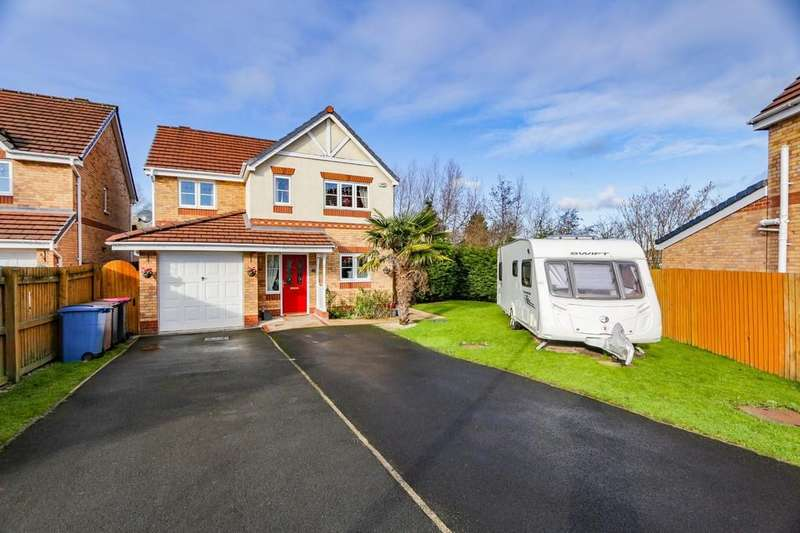 4 Bedrooms Detached House for sale in 17 Powder Mill Close, Irlam