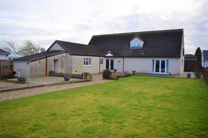 4 Bedrooms Detached House for sale in Manse Road, Stonehouse, Larkhall, ML9 3NX