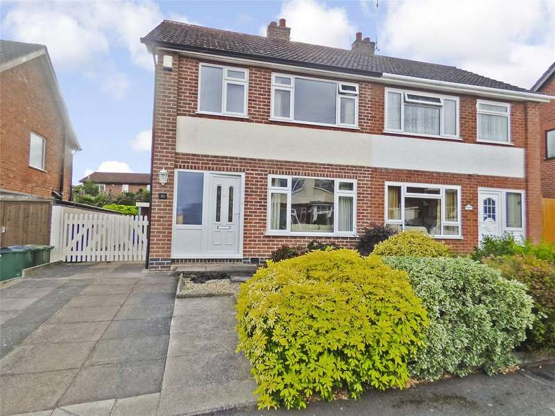 3 Bedrooms Semi Detached House for sale in Hillberry Close, Narborough, Leicester, Leicestershire, LE19