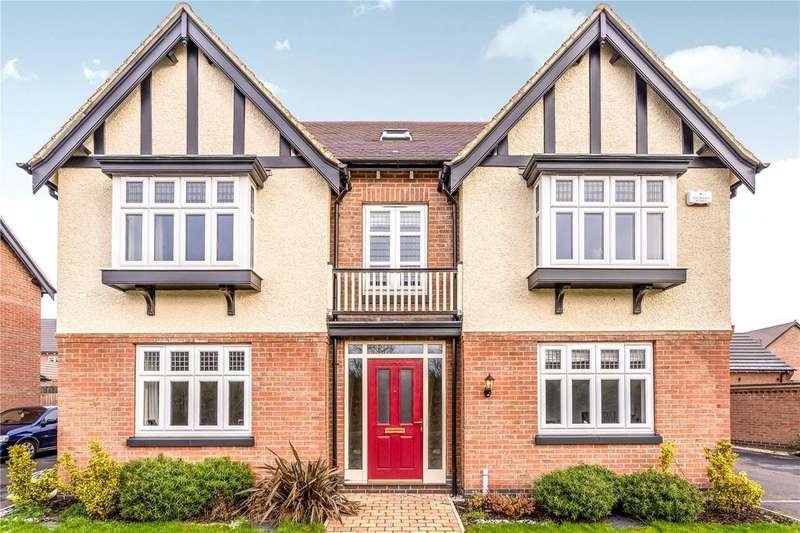 5 Bedrooms Detached House for sale in Stones Close, Ravenstone, LE67