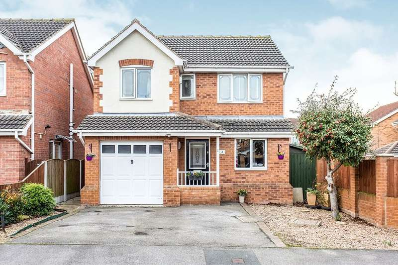 4 Bedrooms Detached House for sale in Windsor Close, Normanton, WF6