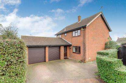 4 Bedrooms Detached House for sale in Milesmere, Two Mile Ash, Milton Keynes