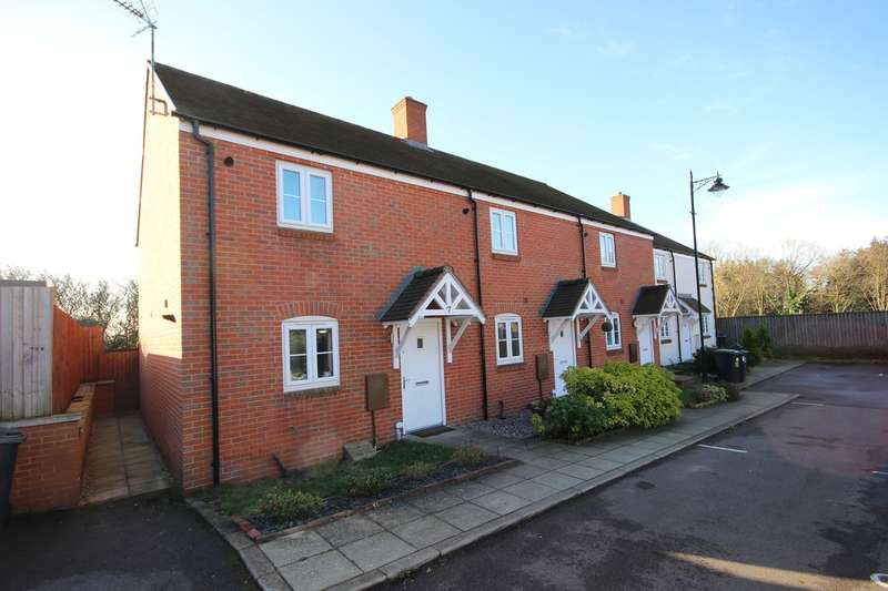 2 Bedrooms End Of Terrace House for sale in Nottingham Close, Ampthill, Bedfordshire, MK45