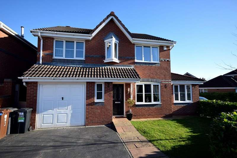 4 Bedrooms Detached House for sale in Ellergreen Road, HIndley Green WN2