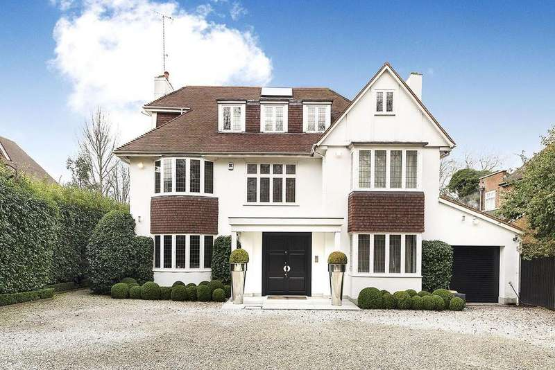 5 Bedrooms Detached House for sale in West Heath Avenue, Hampstead