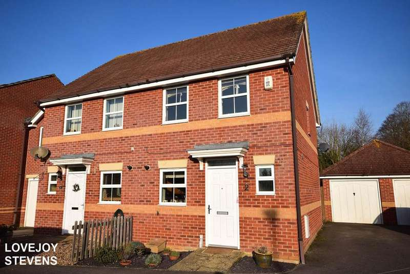 2 Bedrooms Semi Detached House for sale in Florence Gardens, Thatcham RG18