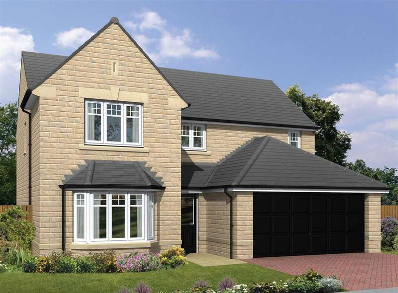 4 Bedrooms Detached House for sale in The Warkworth, Burn Road, Birchencliffe, Huddersfield