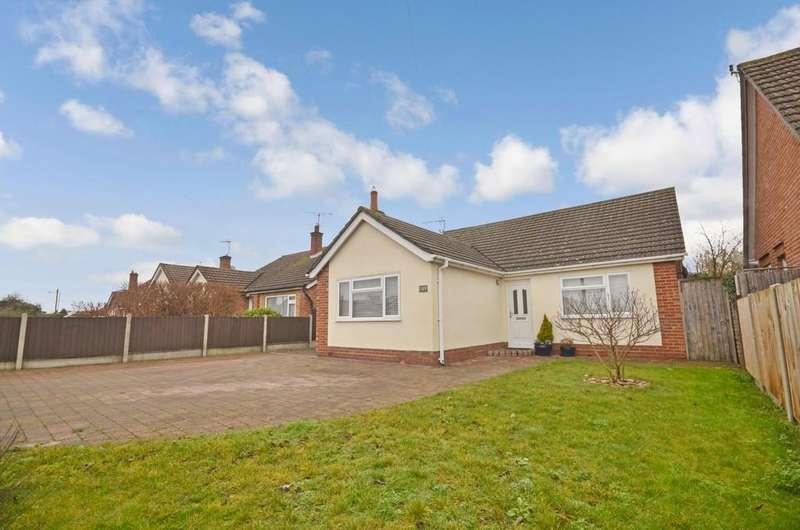 3 Bedrooms Detached Bungalow for sale in St. Johns Road, Colchester, CO4 0JH