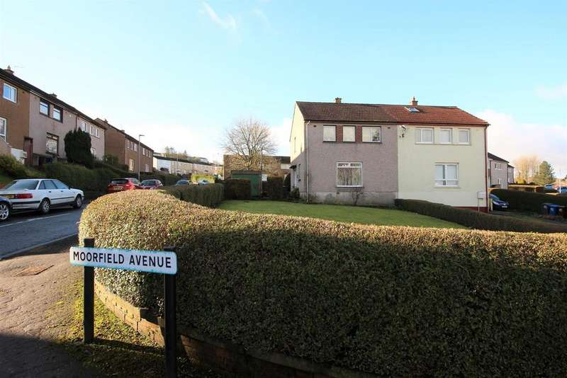 3 Bedrooms Semi Detached House for sale in Moorfield Avenue, Port Glasgow