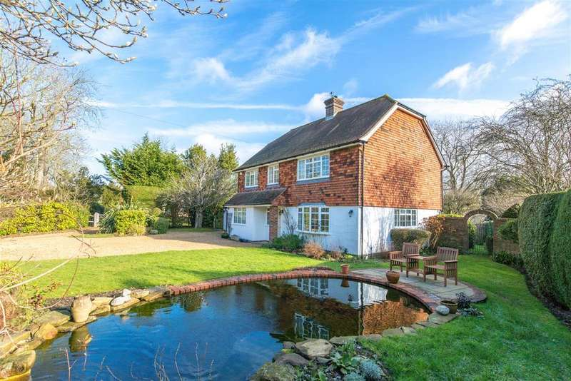4 Bedrooms Detached House for sale in Spithurst Road, Barcombe