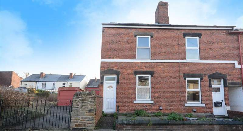 2 Bedrooms Terraced House for sale in Fanshaw Road, Dronfield