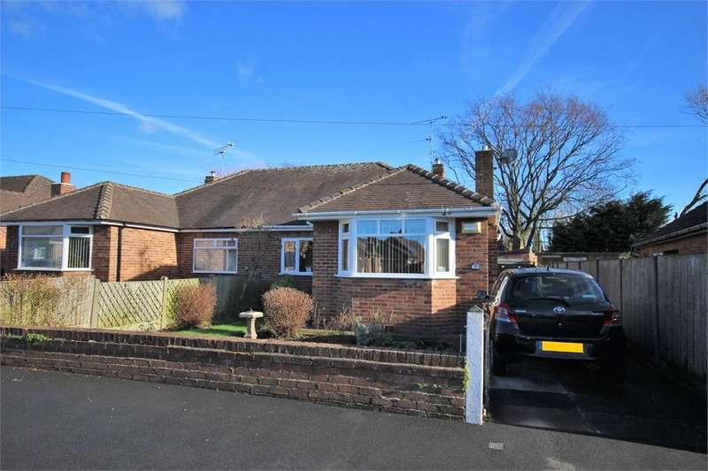2 Bedrooms Semi Detached Bungalow for sale in Springfield Road, WIDNES, Cheshire