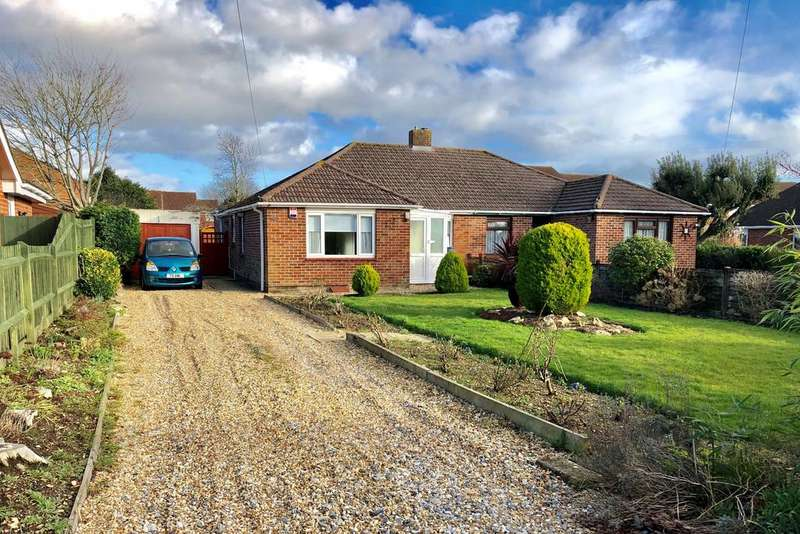 3 Bedrooms Semi Detached Bungalow for sale in Cyprus Road, Titchfield Common