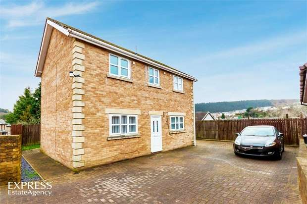 3 Bedrooms Detached House for sale in Tillery Road, Abertillery, Blaenau Gwent