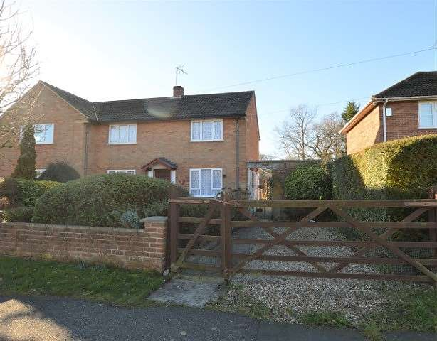2 Bedrooms Semi Detached House for sale in Brocas Road, Burghfield Common, Reading, RG7