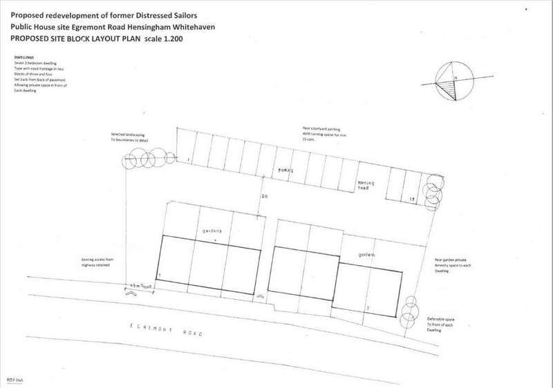 Land Commercial for sale in Residential building plots, Egremont Road, Whitehaven, Cumbria