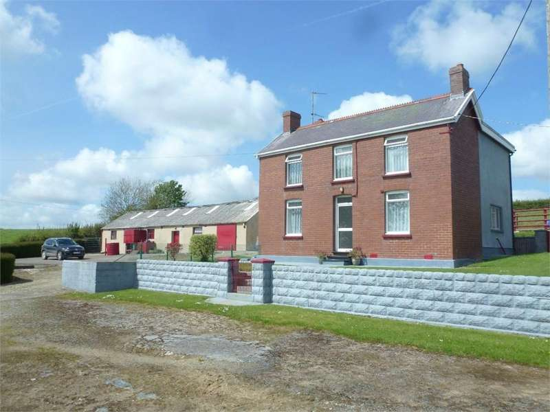 5 Bedrooms Farm House Character Property for sale in Blaenbill, Llandissilio, Clynderwen, Pembrokeshire