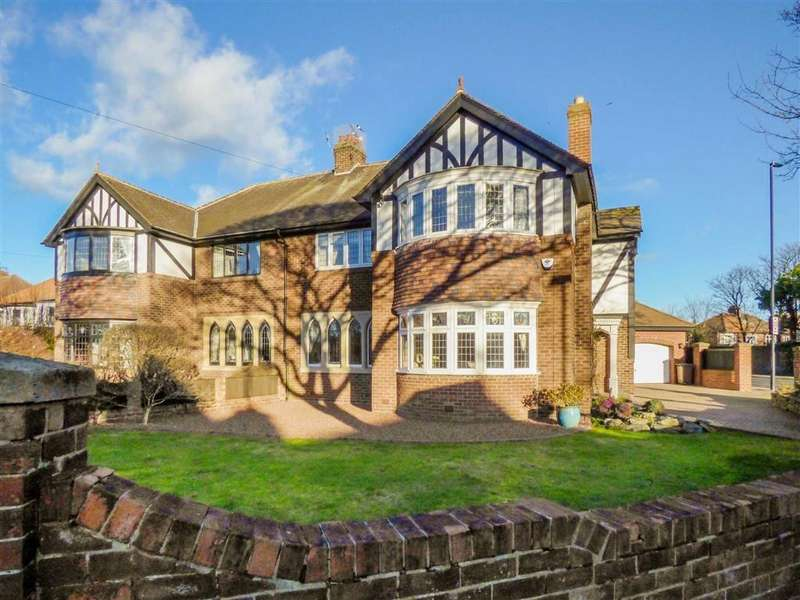 4 Bedrooms Semi Detached House for sale in Broadway, Tynemouth
