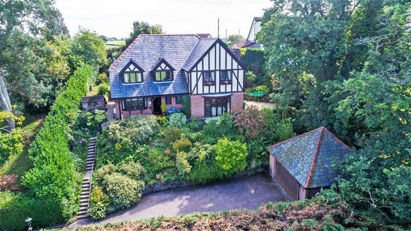 4 Bedrooms Detached House for sale in Near Chepstow, Monmouthshire