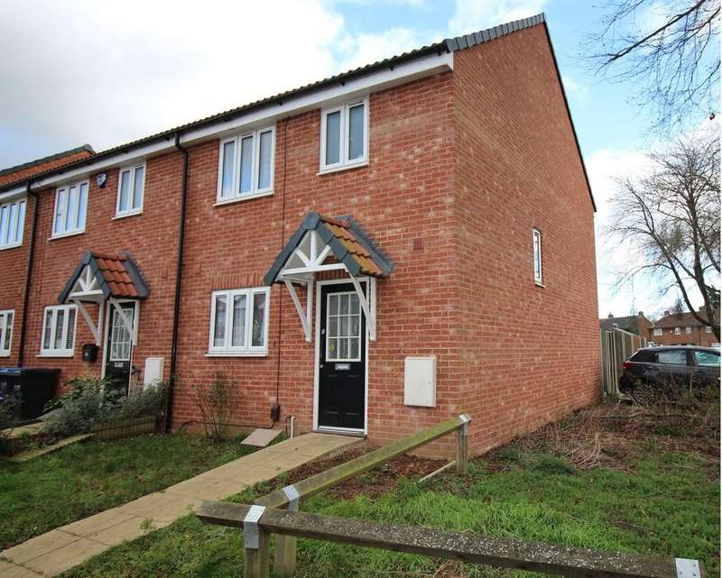 3 Bedrooms End Of Terrace House for sale in Heathcote Avenue, Hatfield, AL10