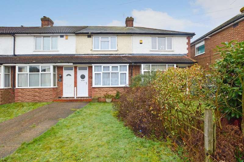 2 Bedrooms Terraced House for sale in Chesford Road, Putteridge, Luton, LU2 8DR