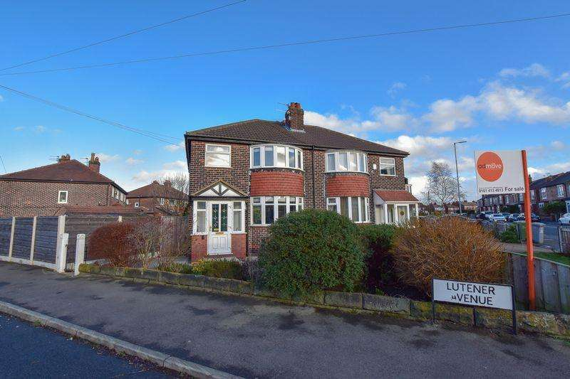3 Bedrooms Semi Detached House for sale in Lutener Avenue, Altrincham