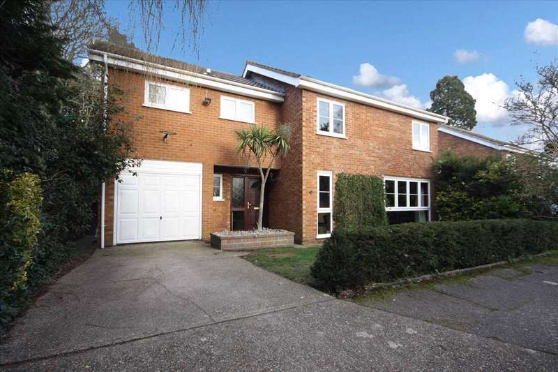 5 Bedrooms Detached House for sale in Almondhayes, Ipswich