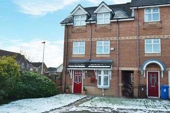4 Bedrooms Town House for sale in Waterford Close, Platt Bridge, Wigan, WN2 5BX