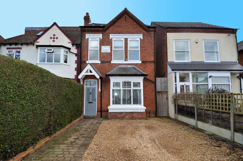 4 Bedrooms Semi Detached House for sale in Livingstone Road, Kings Heath, Birmingham, B14