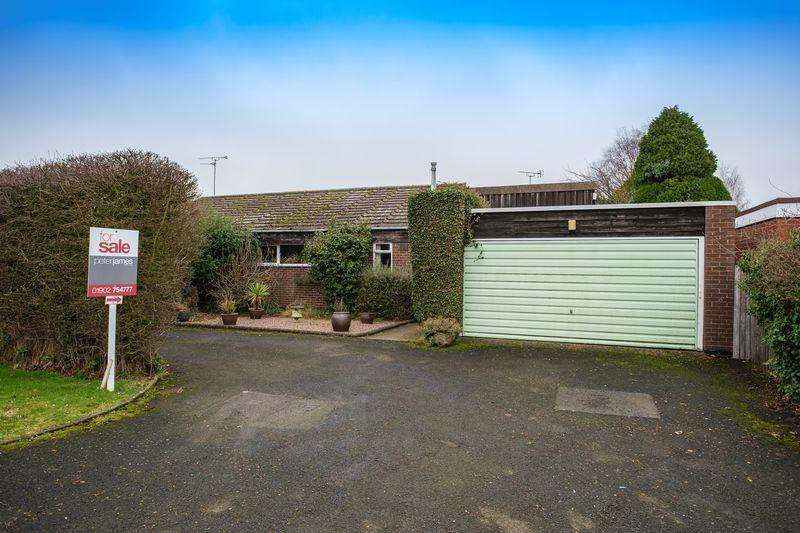 3 Bedrooms Detached Bungalow for sale in Whiston Close, Albrighton, Wolverhampton