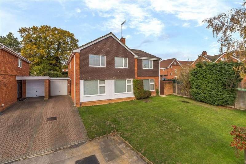 5 Bedrooms Detached House for sale in Broadfields, Harpenden, Hertfordshire