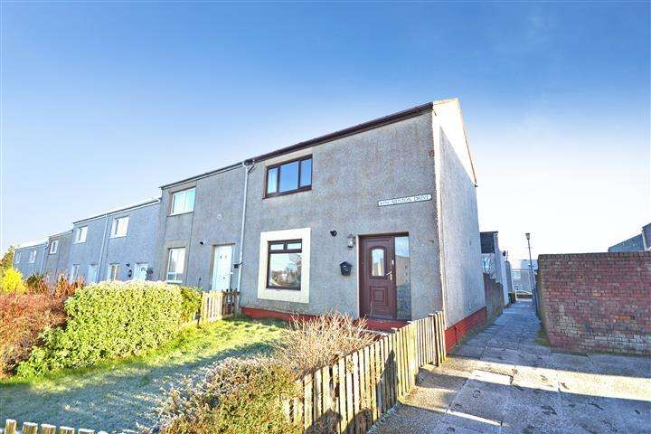 2 Bedrooms End Of Terrace House for sale in 163 Kincaidston Drive, Ayr, KA7 3XU