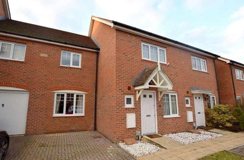 3 Bedrooms Terraced House for sale in East Hundreds, Elvetham Heath , Fleet
