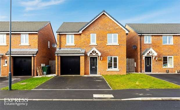 4 Bedrooms Detached House for sale in Railway View, Aiskew, Bedale, North Yorkshire