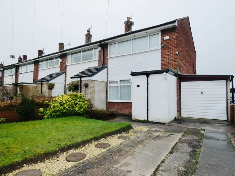 2 Bedrooms End Of Terrace House for sale in Buttermere Road, Partington, Manchester, Greater Manchester, M31