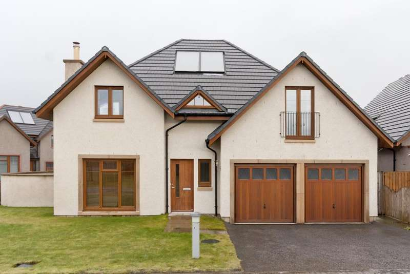 4 Bedrooms Detached House for sale in Stuart Crescent, Kemnay, Aberdeenshire