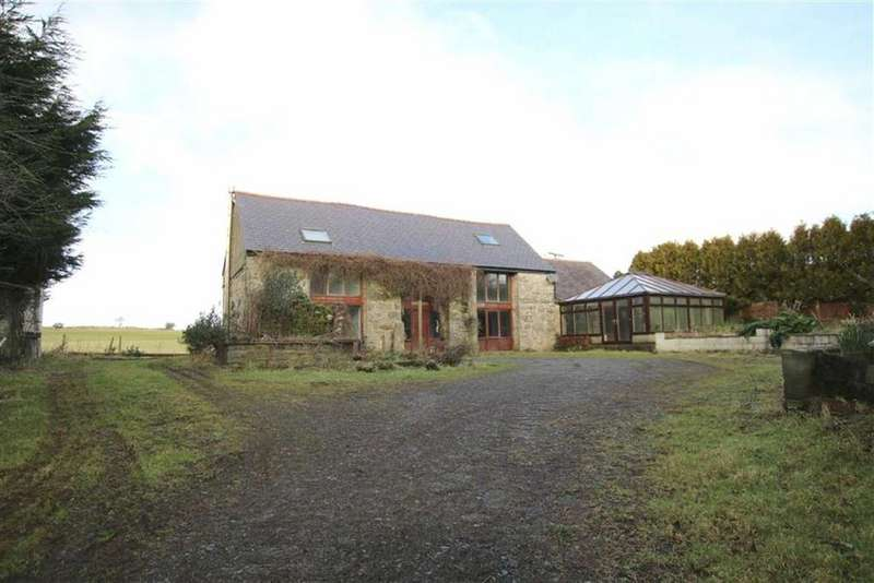 2 Bedrooms Barn Conversion Character Property for sale in Pwll Melyn, Brynteg, Ynys Mon, LL78