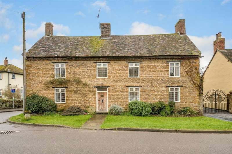5 Bedrooms Detached House for sale in High Street, Braunston, Daventry