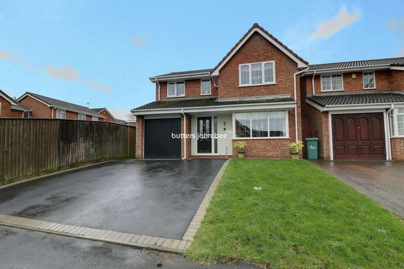 4 Bedrooms Detached House for sale in St Thomas Drive, Cannock