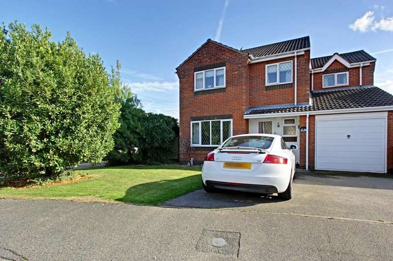 4 Bedrooms Detached House for sale in Willow Close, Ulceby, Lincolnshire, DN39