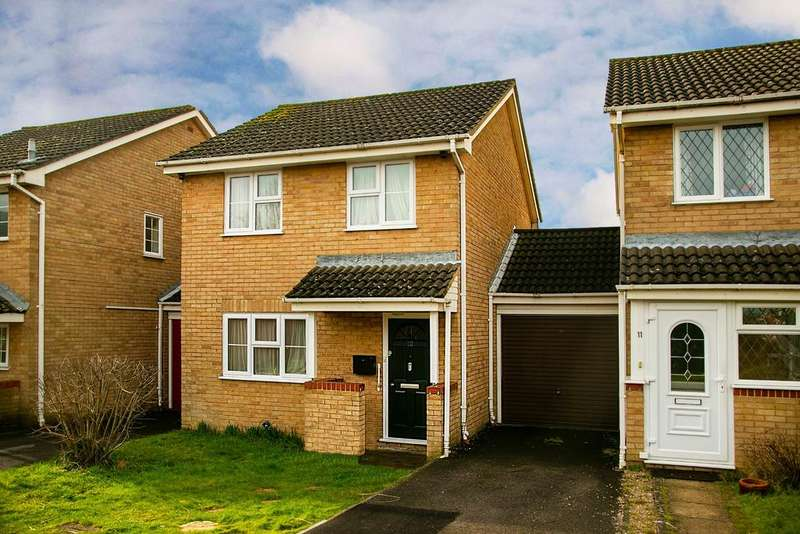 3 Bedrooms Link Detached House for sale in Lutton Close, Lower Earley, Reading, RG6 4AA