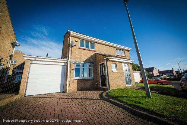 2 Bedrooms Semi Detached House for sale in ESCALLOND DRIVE, SEAHAM, SEAHAM DISTRICT