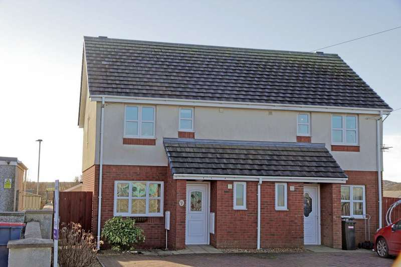 3 Bedrooms Semi Detached House for sale in Garreglwyd Road, Holyhead, North Wales