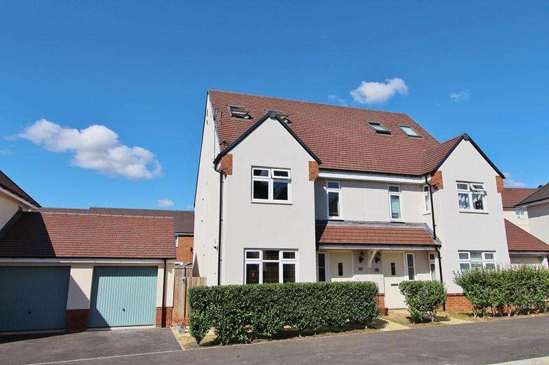 3 Bedrooms Semi Detached House for sale in Augustus Avenue, Keynsham, Bristol