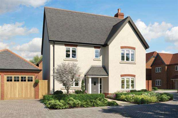 4 Bedrooms Detached House for sale in Eldridge Park, Bell Foundry Lane, Wokingham